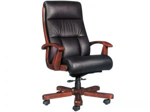 High back chair office
