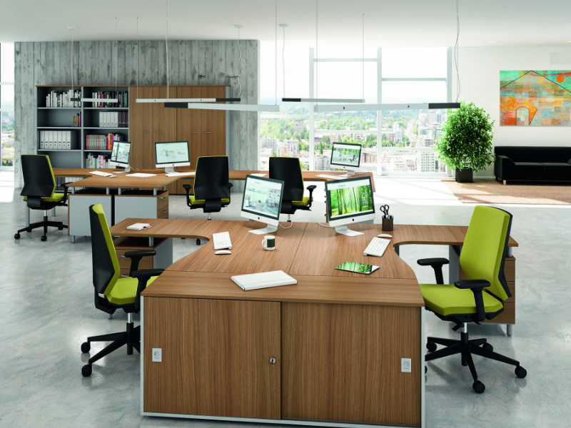 modular open office workstation in chennai